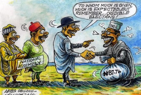 vanguard inec cartoon
