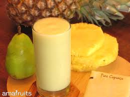 Pineapple and Yummy Soursop in a delish smoothie