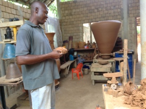 Inside the workshop with Ibukun