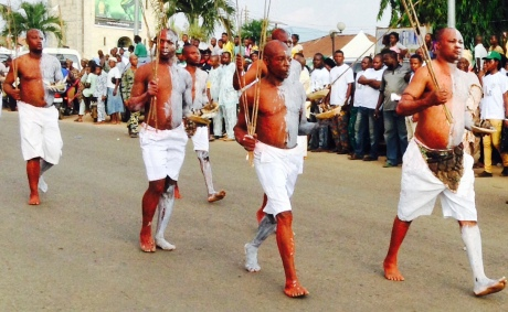 The Lokolokos are strong, fierce and loyal to the  Ooni.