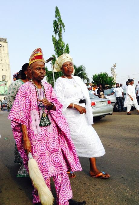 Chief Egbeji Elesinje of Ife