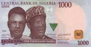 1 thousand naira